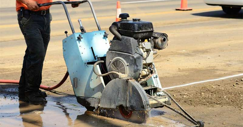 Collier Paving and Concrete - Concrete Cutting, Repair & Finishing