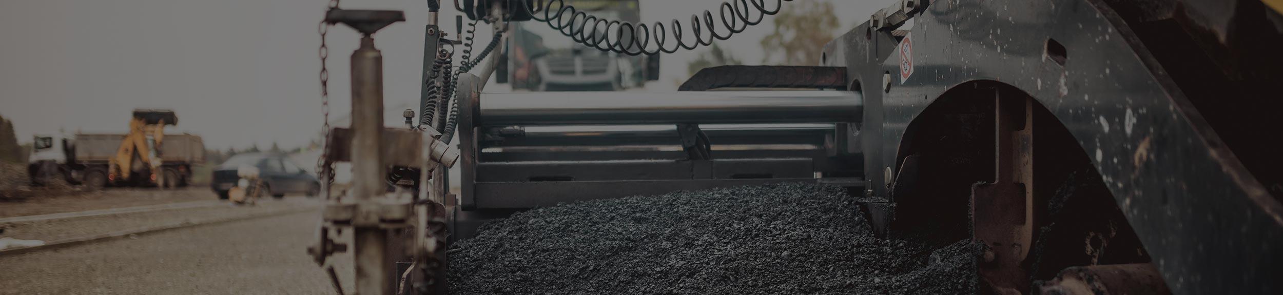Paving Equipment - Collier Paving & Concrete