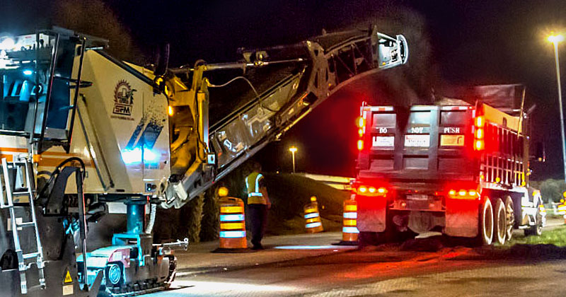 Collier Paving and Concrete - Asphalt Milling & Cold Milling