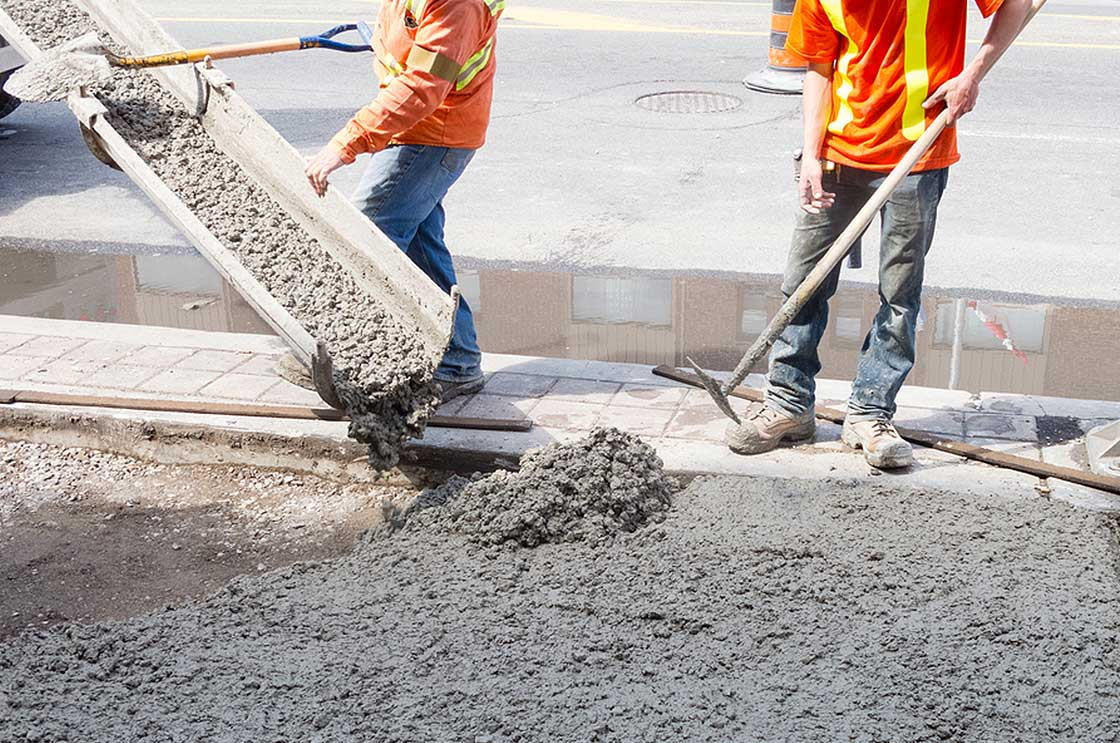 Collier Paving & Concrete - Concrete Pouring