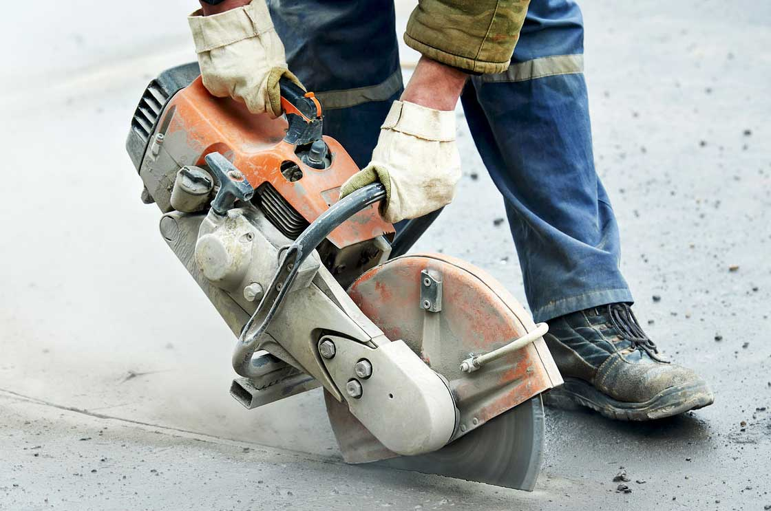 Collier Paving & Concrete - Asphalt Cutter