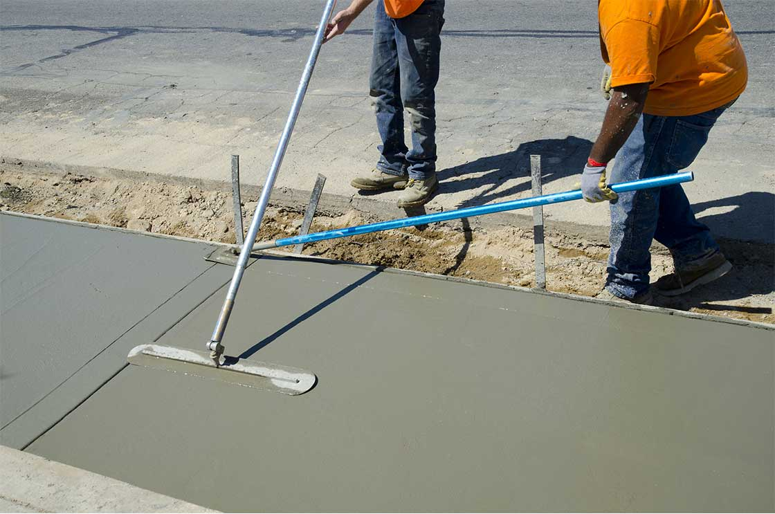 Collier Paving and Concrete - Concrete Sidewalks & Walkways