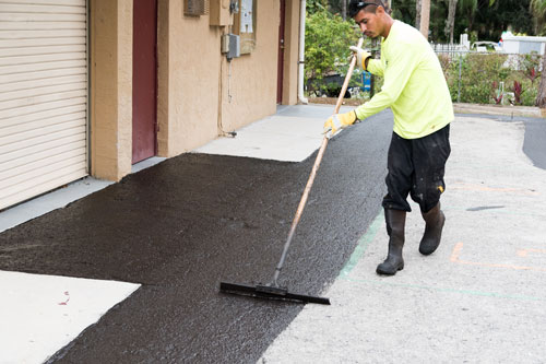 Asphalt Sealcoating - Collier Paving and Concrete