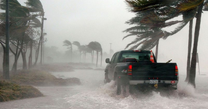 Hurricane in Naples, Florida creates need for Disaster Recovery Paving Services
