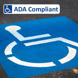 Looking for Handicap Striping? | Collier Paving & Concrete ADA Compliant Striping