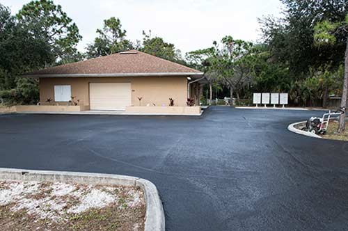 Sealcoat After Picture | Collier Paving & Concrete