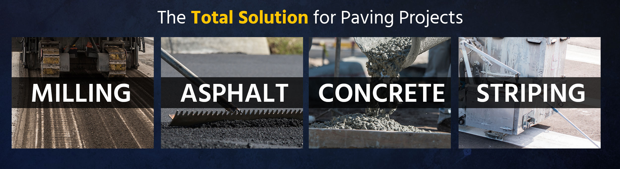 We are the Total Solution for Paving Projects - Collier Paving and Concrete